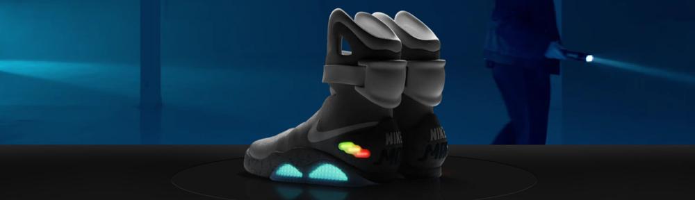 Les Nike de Retour vers le futur en vente !