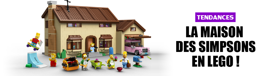 La maison des simpsons en lego !