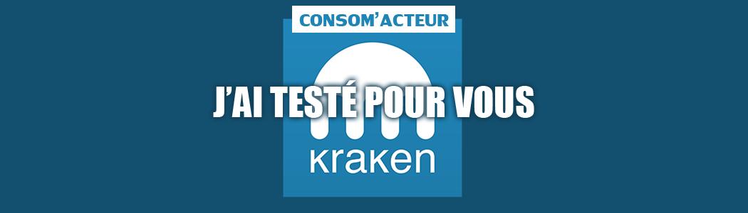 J'ai testé pour vous : Kraken (plateforme bitcoin)