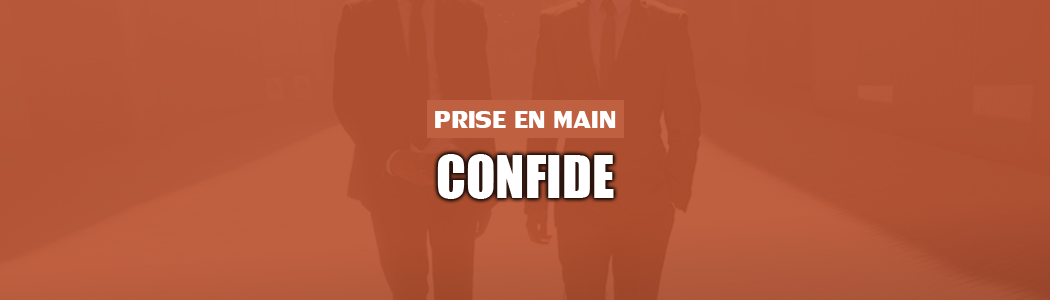 Prise en main de Confide