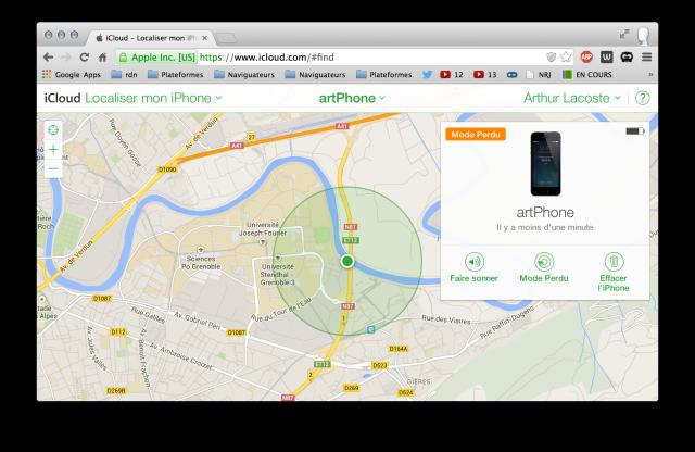 icloud-localiser-iphone